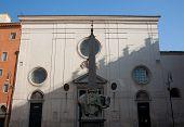 Facade Of Santa Maria Sopra Minerva