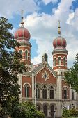 picture of synagogue  - The Great Synagogue in Plzen  - JPG