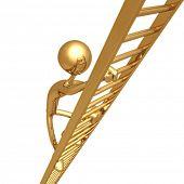 Climbing Golden Ladder