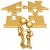Golden Realty Home Puzzle