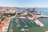 Port And Marina In Lisbon