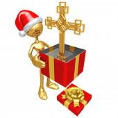 Christmas Gift Cross