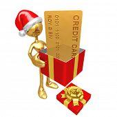 Christmas Gift Credit Card