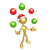 Juggling Ornaments