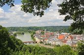 Old Town Wasserburg, Bavaria, View From Lookout Point