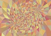 Geometric mesh 3D background