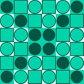 Tileable geometric abstract pattern