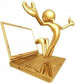 Jump For Joy Laptop