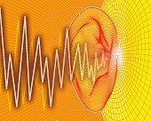 Ear sound waves