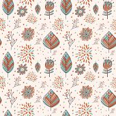 Adorable Cartoon Seamless Pattern