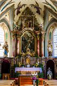 picture of church interior  - interior of church - JPG