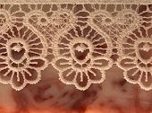 abstract background with lace