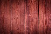 Marsala colored old wood background - wooden planks texture close up