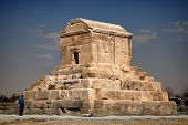 Tomb Of Cyrus In Pasargadae Of Shiraz