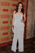 LOS ANGELES - JAN 12:  Emilia Clarke at the HBO 2014 Golden Globe Party  at Beverly Hilton Hotel on January 12, 2014 in Beverly Hills, CA