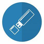 Flash Usb Icon.