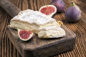 picture of brie cheese  - brie cheese - JPG