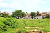 The area inside the Galle Fort
