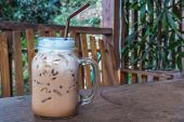 Ice Coffee in Jar