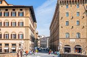 Historic Centre In Florence, Italy.