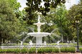 Old Fountain In Forsyth Park