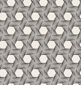Vector abstract seamless background. Line pattern. Optical illusion