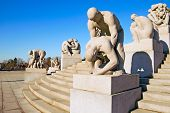 Oslo. Norway. The Vigeland sculptures