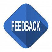 feedback flat icon