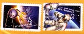 Circa 2007 : Cancelled Australian Postage Stamps Space Astronauts