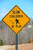 Children at Play Road Sign