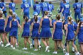 Cheerleader Football Good Game