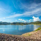 Mae Kuang Dam lake in Northern Thailand
