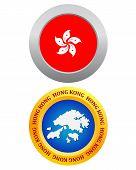 Button As A Symbol Hong Kong