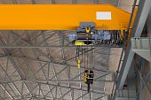 Close Up Of An Overhead Crane