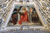 SALZBURG, AUSTRIA - DECEMBER 13: Fragment of the dome in the Chapel of the Transfiguration of Jesus, Salzburg Cathedral on December 13, 2014 in Salzburg, Austria.
