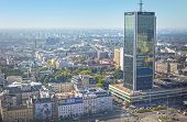 Warsaw - September 12, 2014. view from the roof