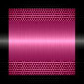 pink steel metal texture with holes metal background