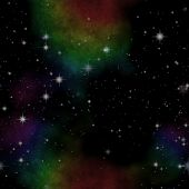 Illustration Of Deep Space With Stars