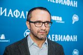 MOSCOW - JANUARY, 28: Film Director Andrey Zvyagintsev . Premiere of the movie Leviathan at Moscow Cinema,  January, 28, 2015 in Moscow, Russia