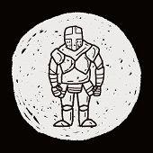 foto of paladin  - Knight Doodle - JPG