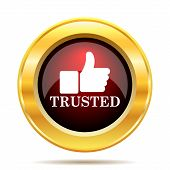 pic of trust  - Trusted icon - JPG