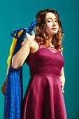 image of clothes hanger  - Retail and sale - JPG
