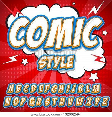 Comics alphabet Comics