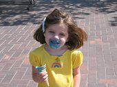 Eating An Ice Cream