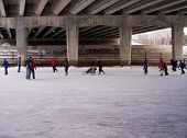 Rideau Canal Under A Bridge