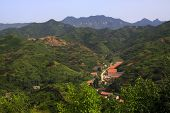 Mountain Village Scenery