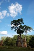 Skyscape de Prasat Suor Prats, Combodia