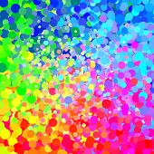 Fondo de gotas de color aleatorio
