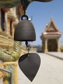 Chime At Buddhist Temple poster