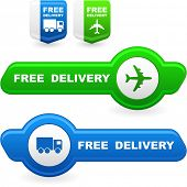 stock photo of delivery-truck  - Free delivery elements for sale - JPG
